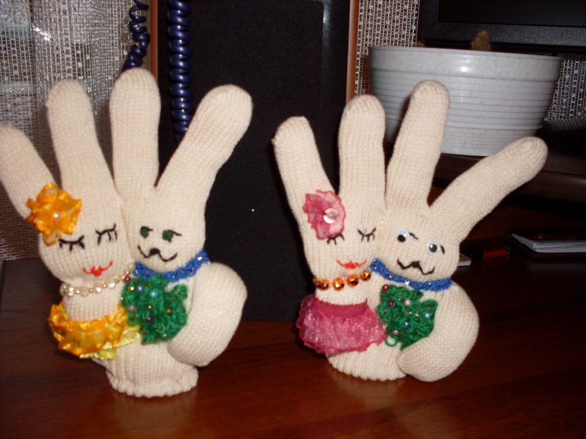 Животные из перчаток своими руками 57