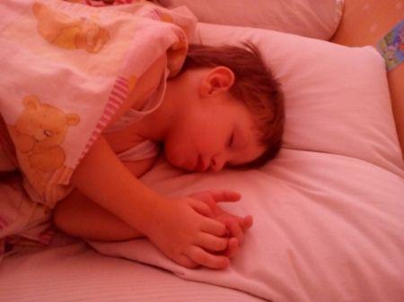 Ваня спит
