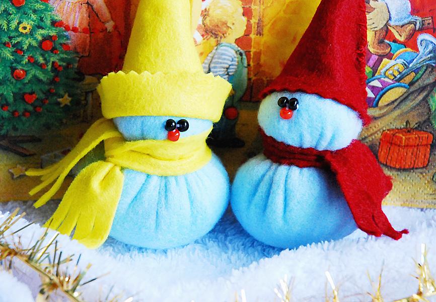 Новогоднюю игрушку в садик своими руками