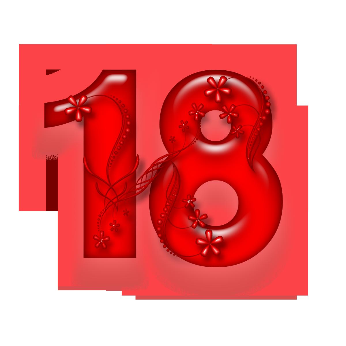 Поздравление с 18 летием красиво